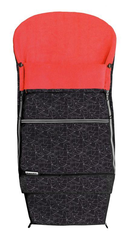 Emitex Combi Extra černá-červená