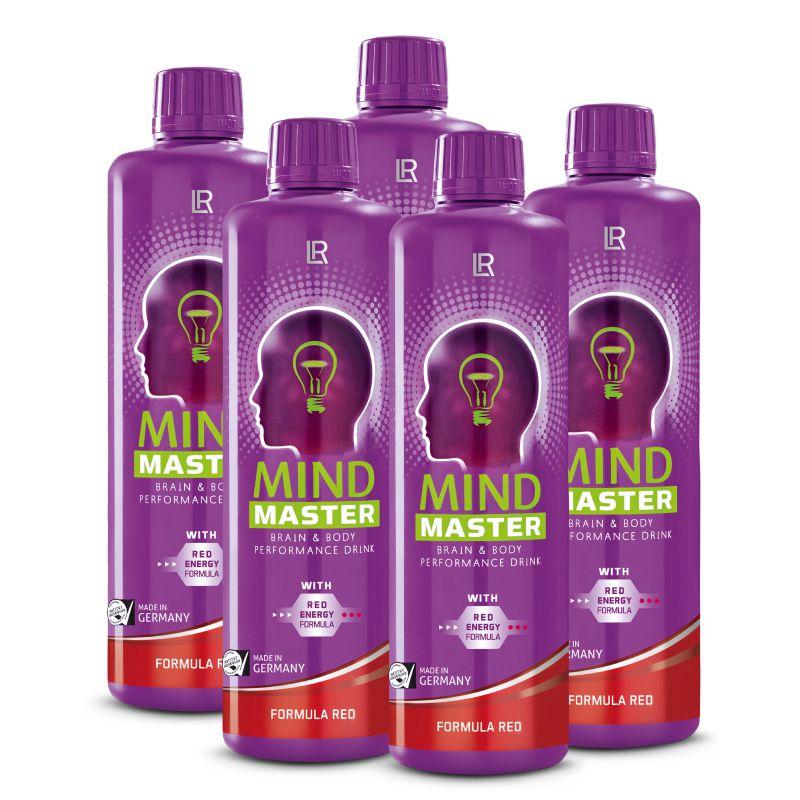 LR Mind Master Formula Red Série 5 ks - 5 x 500 ml