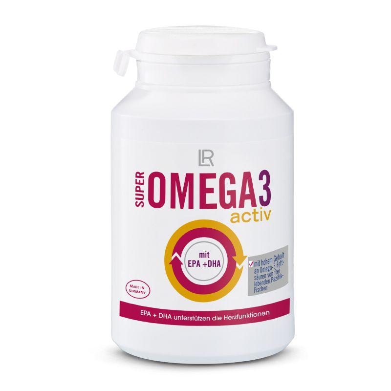 LR Super Omega 3 activ 60 kapslí