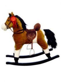 Houpací koník Milly Mally Mustang hnědý