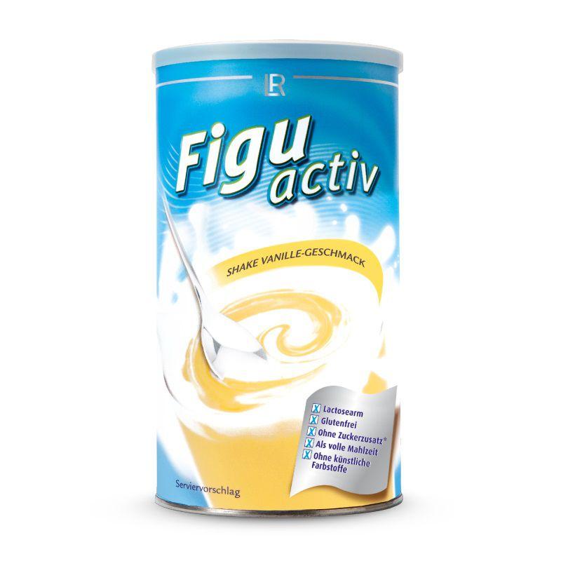 Figuactiv Instantní nápoj v prášku s vanilkovou příchutí