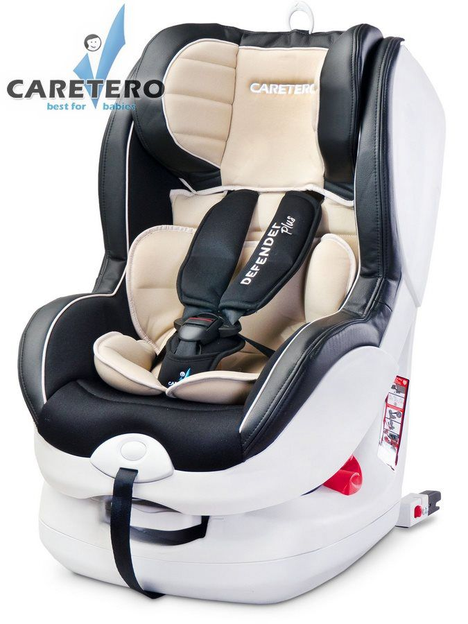 Caretero Defender Plus Isofix 2019 beige