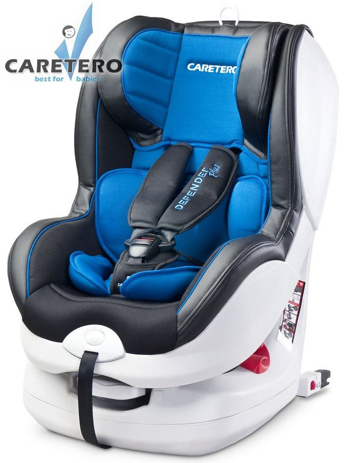 Caretero Defender Plus Isofix 2019 blue