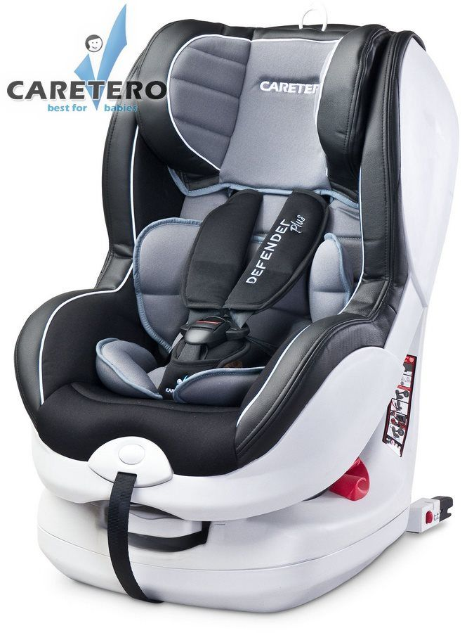 Caretero Defender Plus Isofix 2019 grey