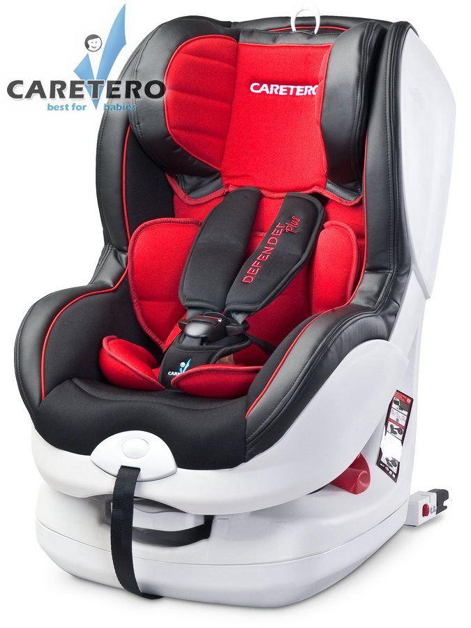 Caretero Defender Plus Isofix 2016 red