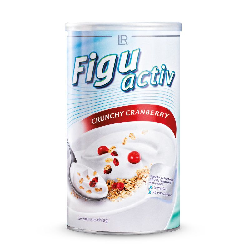 LR FiguActiv Vital Crunchy Cranberry müsli 450g