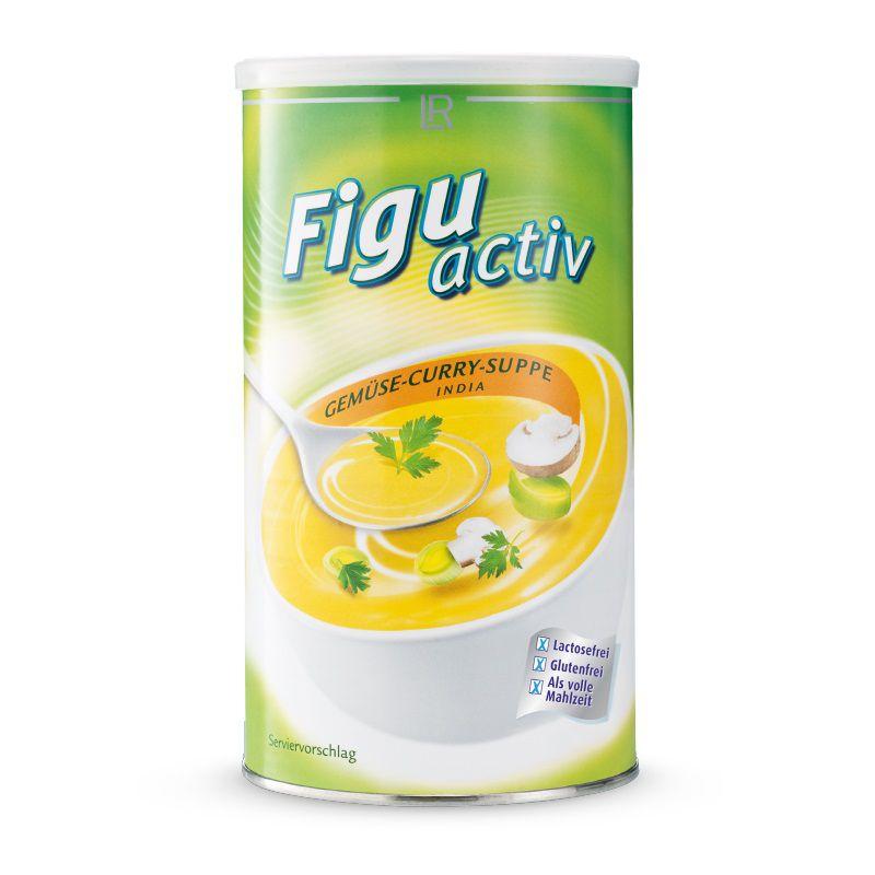 LR Figuactiv Zeleninová kari polévka India 500 g