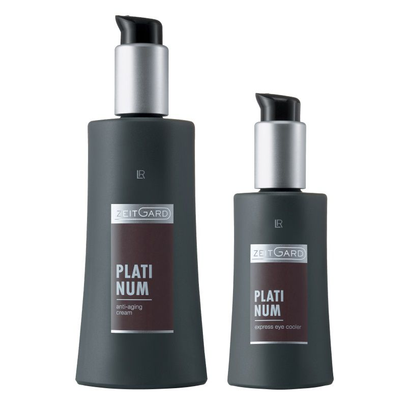 LR Zeitgard Platinum Anti-aging krém 50 ml + Revitalizační oční gel Express 30 ml dárková sada
