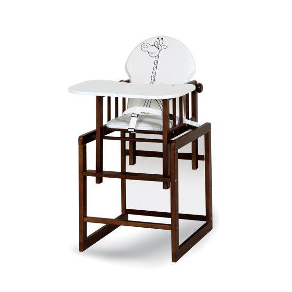 Jídelní židlička Klups Safari žirafa žirafka