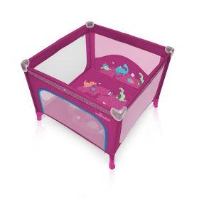 Baby Design Ohrádka Joy 08 růžová