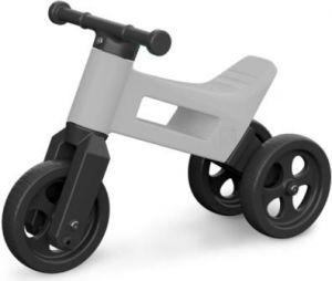 Teddies Odrážedlo Funny Wheels 2v1 šedé