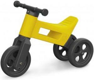 Teddies Odrážedlo Funny Wheels 2v1 žluté