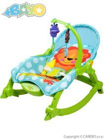 Bayo dětské lehátko 2v1 green