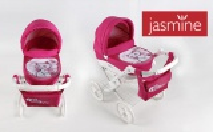 Jasmine Kids kočárek pro panenky kočička