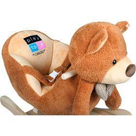 PlayTo Houpací hračka medvídek hnědá + ZÁRUKA 3 ROKY
