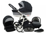 Raf-pol Baby Lux Alu way 2v1 2020 Carbon