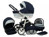 Raf-pol Baby Lux Alu way 2v1 2020 Navy Blue
