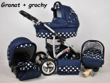 Raf pol Baby Lux Largo 2019 Navy Blue Dots