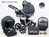 Raf-pol Baby Lux Largo 2021 Grey Geometric