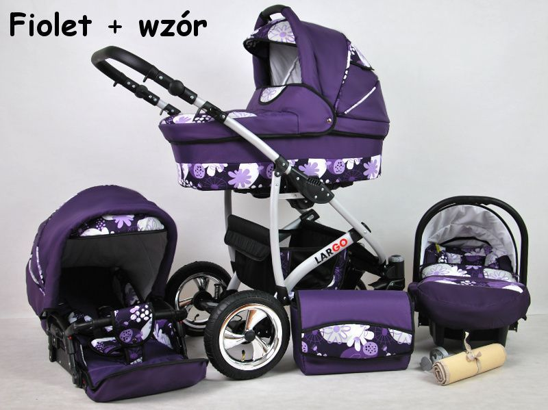 Raf-pol Baby Lux Largo 2019 Purple