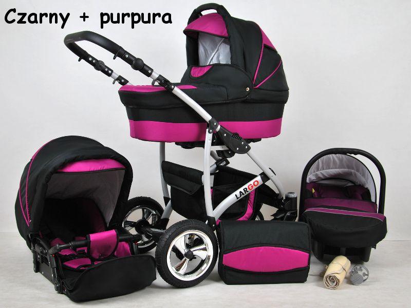 Raf-pol Baby Lux Largo 2020 Black Purple + u nás ZÁRUKA 3 ROKY
