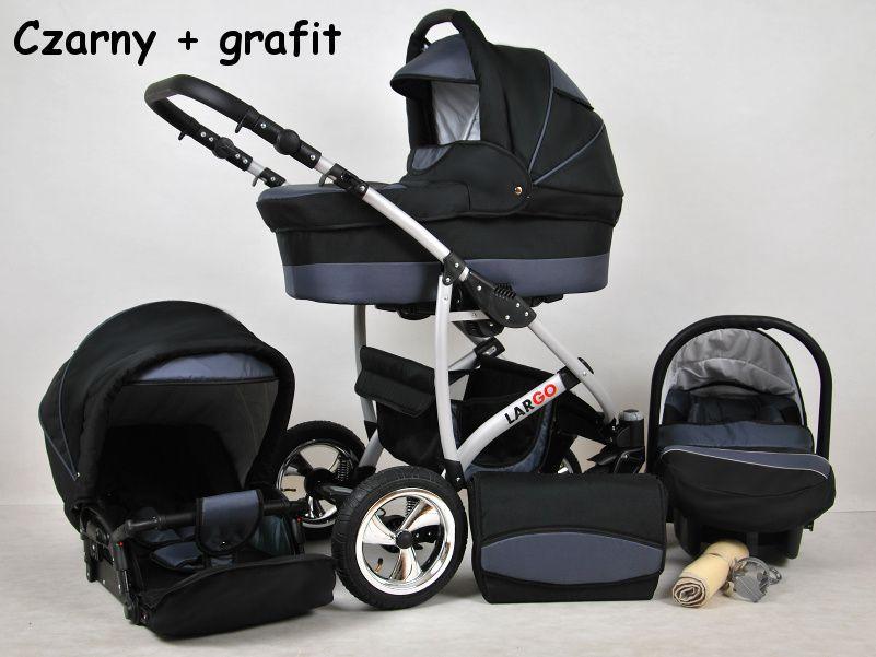 Raf-pol Baby Lux Largo 2019 Black Grey