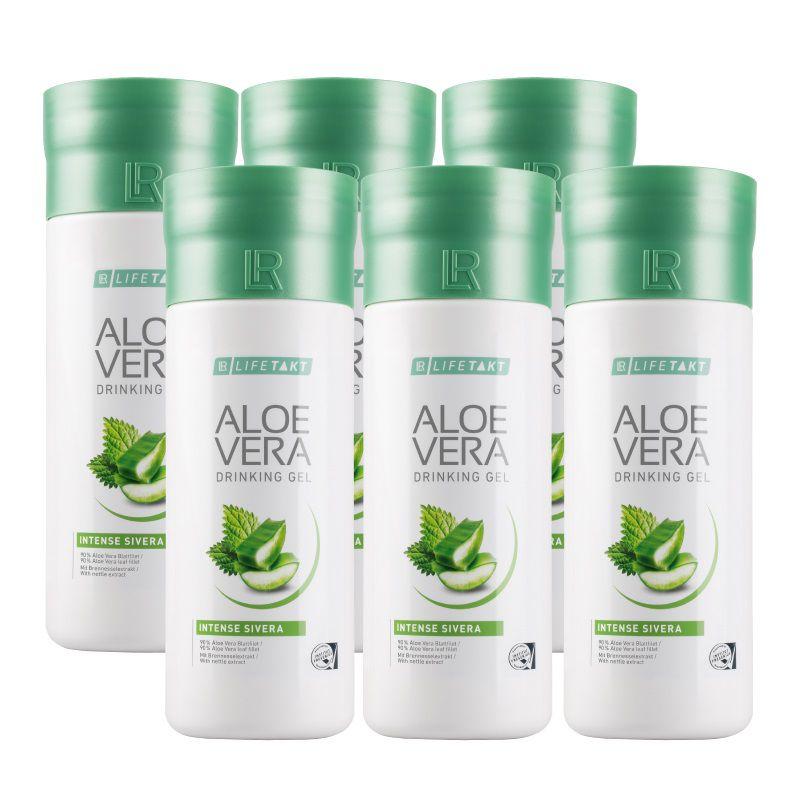 LR Aloe Vera Drinking Gel Sivera 6 x 1000 ml