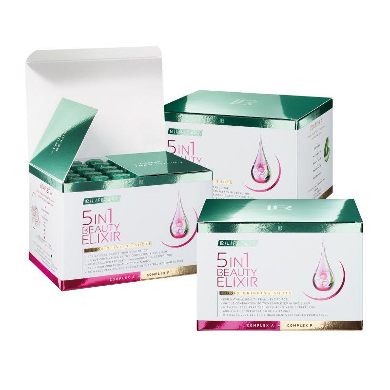 LR Lifetakt 5in1 Beauty Elixir 30 x 25 ml série 3 ks dárková sada