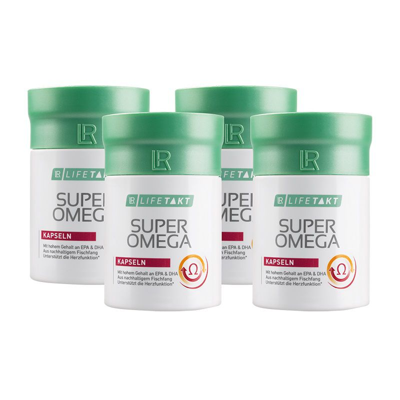LR Super Omega 3 activ 4 x 60 kapslí