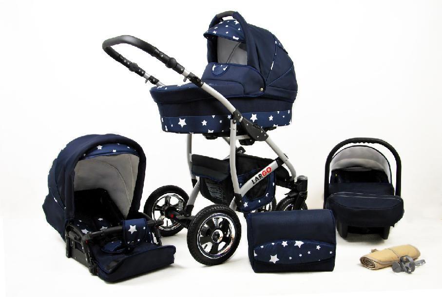 Raf-pol Baby Lux Largo 2021 Navy Blue Star + u nás ZÁRUKA 3 ROKY