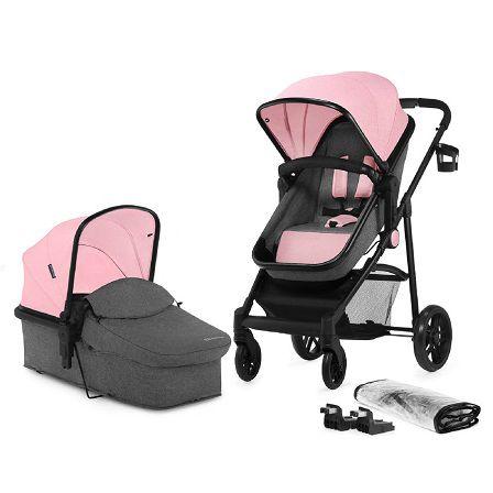 Kinderkraft Juli kombinovaný 2v1 2019 Pink + u nás ZÁRUKA 3 ROKY