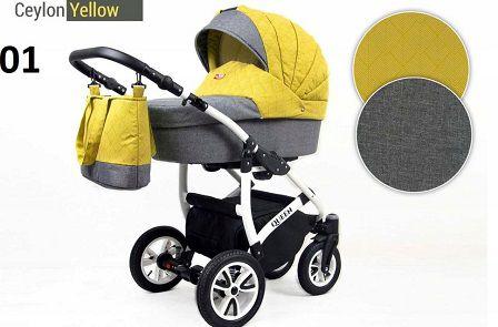 Raf-pol Baby Lux Queen 2019 Ceylon yellow + u nás ZÁRUKA 3 ROKY