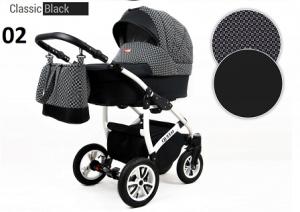 Raf-pol Baby Lux Queen 2019 Classic black
