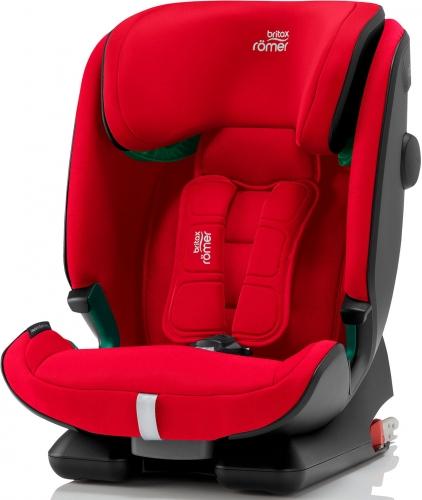 BRITAX RÖMER Advansafix i-Size 2020 Fire Red + u nás ZÁRUKA 3 ROKY a DÁREK Britax Römer