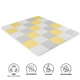 Kinderkraft Luno pěnové puzzle Yellow