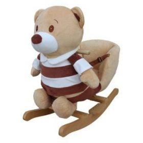 PlayTo houpací hračka s melodií medvídek pruhovaný