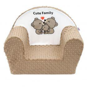 New Baby Cute Family cappuccino + u nás ZÁRUKA 3 ROKY