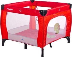 CARETERO Quadra Red dětská skládací ohrádka