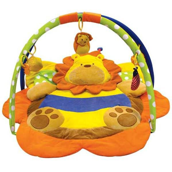 Alexis Baby mix lev hrací deka s hrazdou