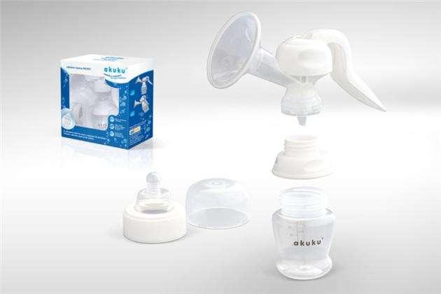 Ruční mechanická odsávačka mateřského mléka Akuku A0140