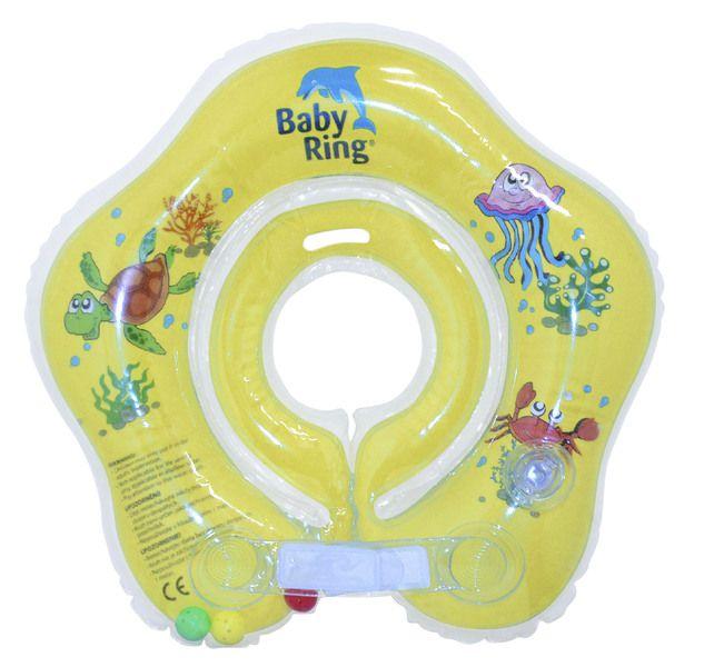 Babypoint koupácí kruh Baby Ring žlutá
